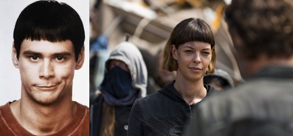 Jim Carrey e Jadis - The Walking Dead