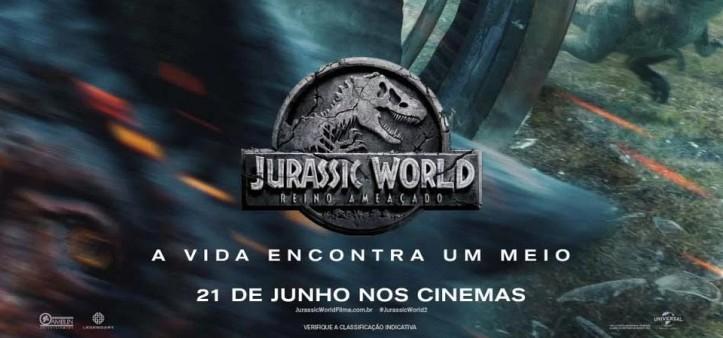Jurassic World - O Reino está Ameaçado - Trailer Final