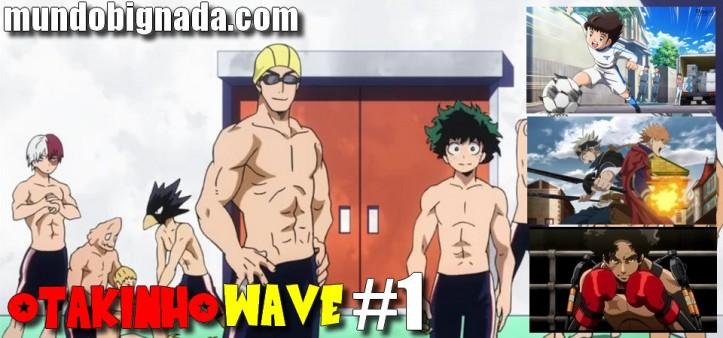 OTAKINHO WAVE #3 - Começa a Primavera! Boku no Hero Academia, Megalobox, Sword Art Online, Persona 5 e outros