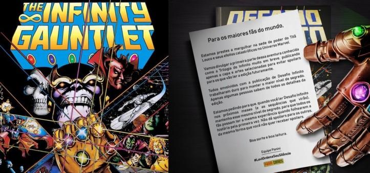 Panini finalmente lançará encadernado de Desafio Infinito da Marvel