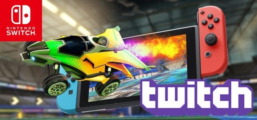 Rocket League pode ter revelado stream via Twitch no Serviço Pago Online da Nintendo