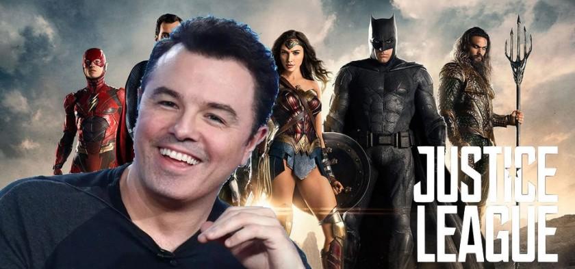 Seth McFarlane será o diretor de Liga da Justiça 2