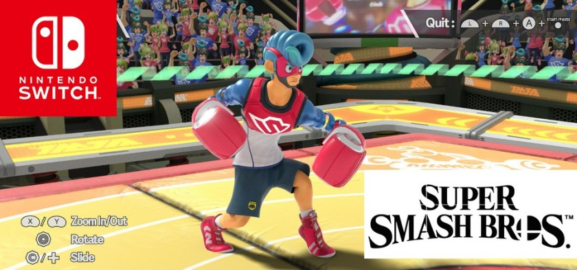 Springman Vs. Decidueye aparecem em suposto gameplay vazado fake de Super Smash Bros de Nintendo Switch