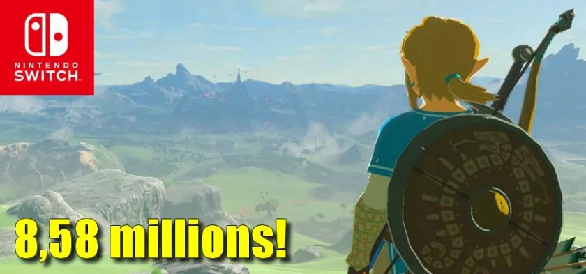 The Legend of Zelda - Breath of the Wild ultrapassa 8,58 milhões de unidades vendidas