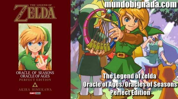 The Legend of Zelda - Oracle of Ages - Oracles of Seasons - Perfect Edition (Mangá) - Bignada Collection