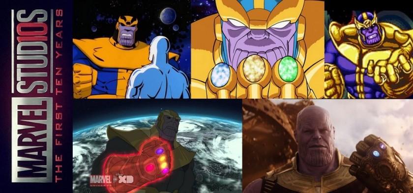 Todas as Aparições de Thanos fora dos quadrinhos - Especial MCU 10 anos