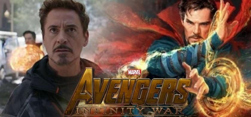 Tony Stark e Dr. Estranho - Clipe #5 de Vingadores - Guerra Infinita