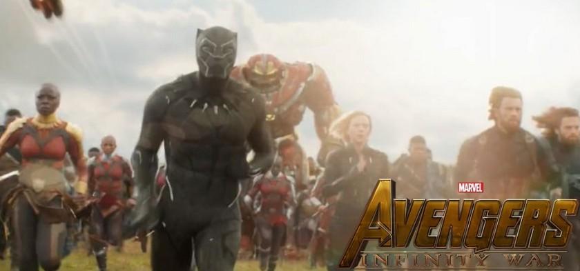 Vingadores - Guerra Infinita - Chant TV Spot