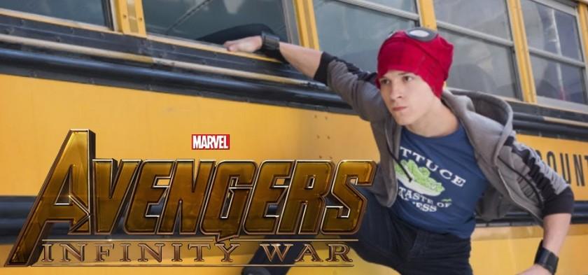 Vingadores - Guerra Infinita - Homem-Aranha mata aula - Clipe do Filme
