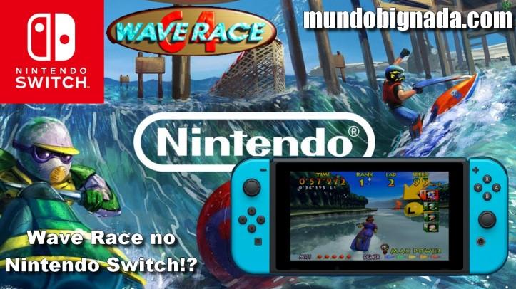 Wave Race pode chegar EM BREVE para Nintendo Switch - BIGNADA COMENTA