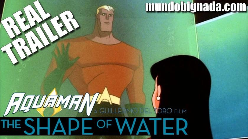DC´s Aquaman - A Forma da Água Real Trailer