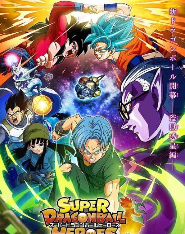 Dragon Ball Heroes - Poster do Anime