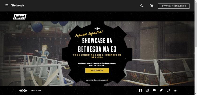 Fallout 76 - Showcase da Bethesda na E3 2018 confirmado