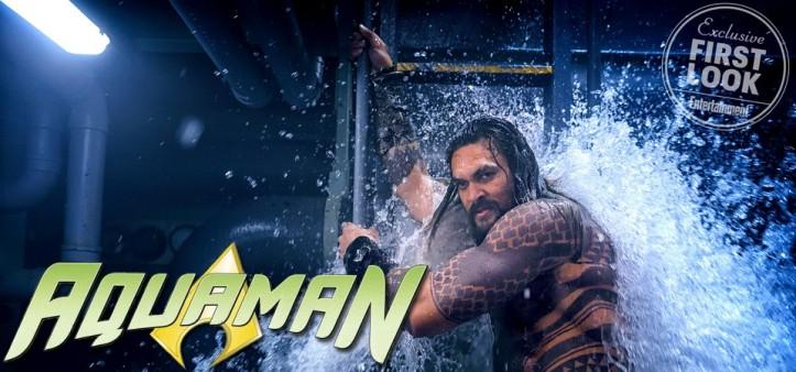 Aquaman - EW libera primeiras imagens do filme e da produção