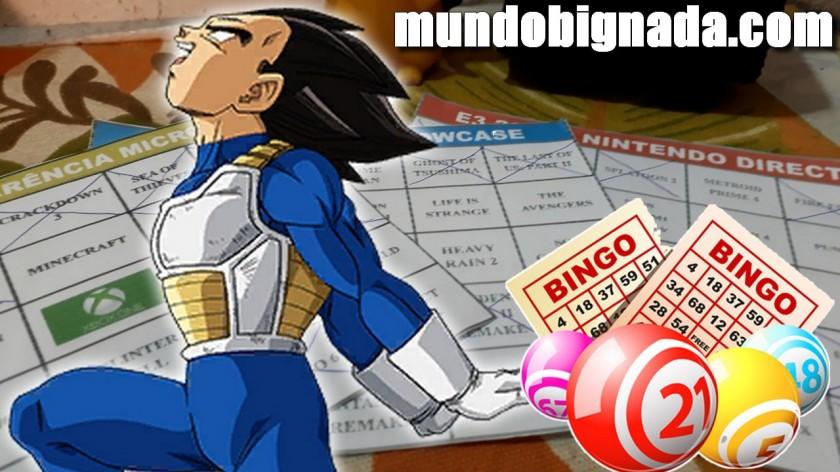 Bingo da E3 2018 - Resultado - BINGONADA