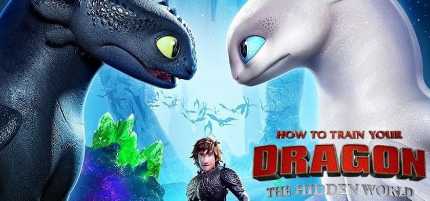 Como Treinar o Seu Dragão 3 - O Mundo Escondido é o título do terceiro filme
