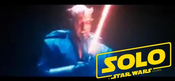 Darth Maul em Han Solo - Uma História Star Wars