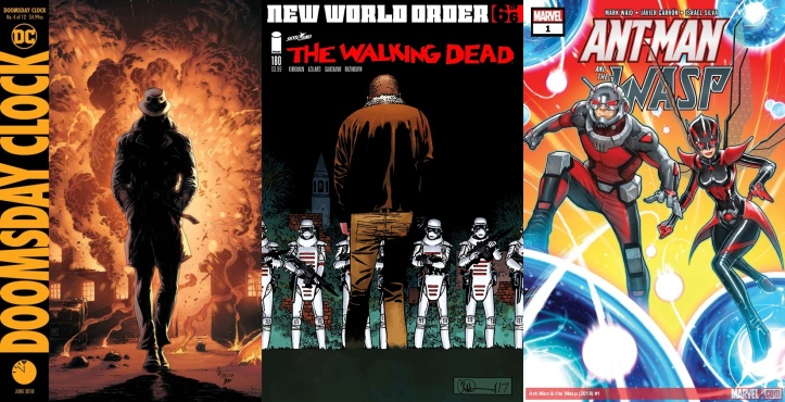 Destaques do Porco-Aranha #5 - Doomsday Clock #4, The Walking Dead #180, Ant-Man and Wasp #1