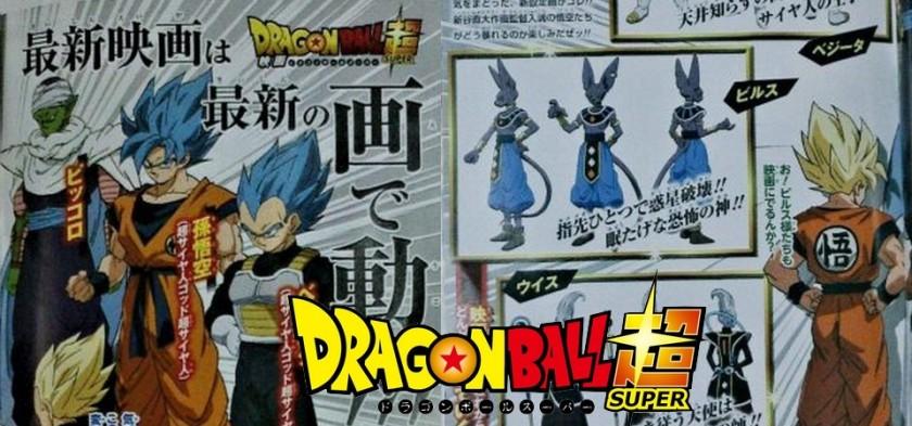 Dragon Ball Super - O Filme - Goku e Vegeta em Novas Imagens do Longa
