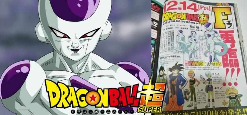 Dragon Ball Super - O Filme - Revelado o visual do Freeza no filme