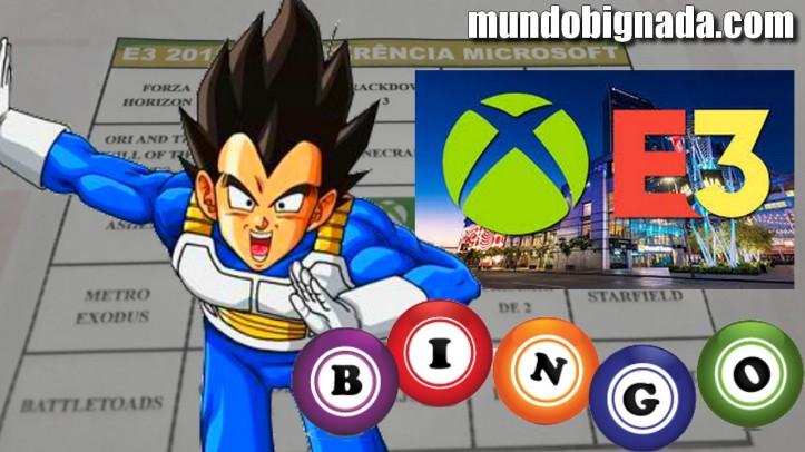 Microsoft Xbox - Bingo da E3 2018 - BINGONADA