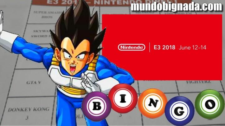 Nintendo Direct - Bingo da E3 2018 - BINGONADA