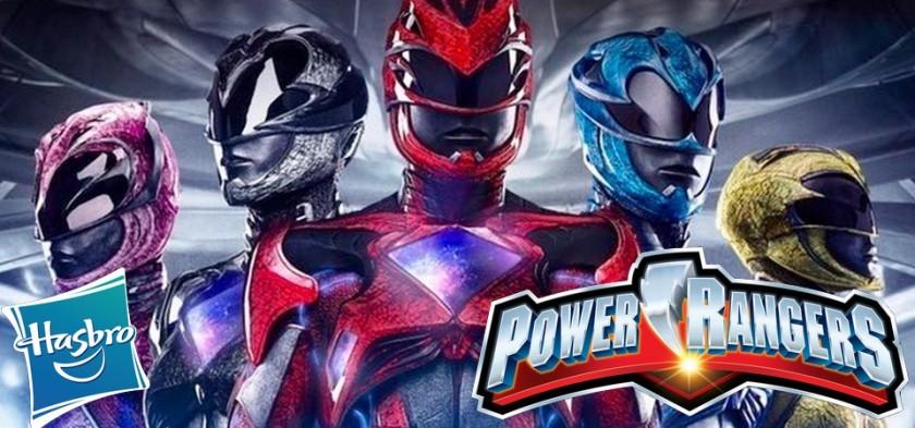 Próximos filmes dos Power Rangers serão feitos pela Hasbro