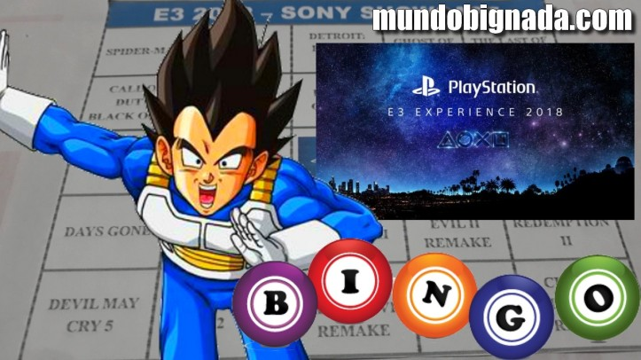 Sony Playstation - Bingo da E3 2018 - BINGONADA