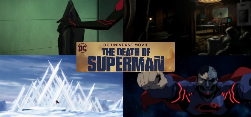 The Death of Superman - Superboy, Aço, Erradicador, Super Ciborgue e as Quatro Cenas Pós-Créditos do filme!