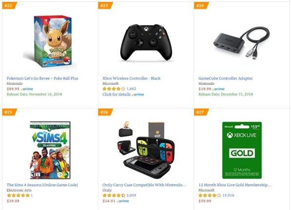 Top 9 10 Amazon - Pokemon Let´s Go Eevee+Poke Ball Plus, The Sims 4 Seasons (Online Game Code)