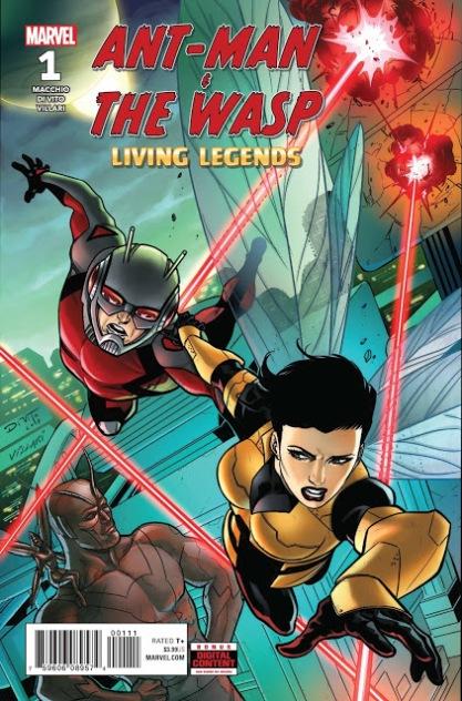 Homem-Formiga e Vespa - Lendas Vivas #1 (2018)