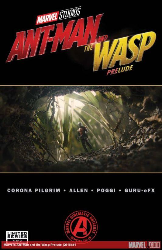 Homem-Formiga e Vespa - Prelúdio #1 (2018) (Em Inglês)