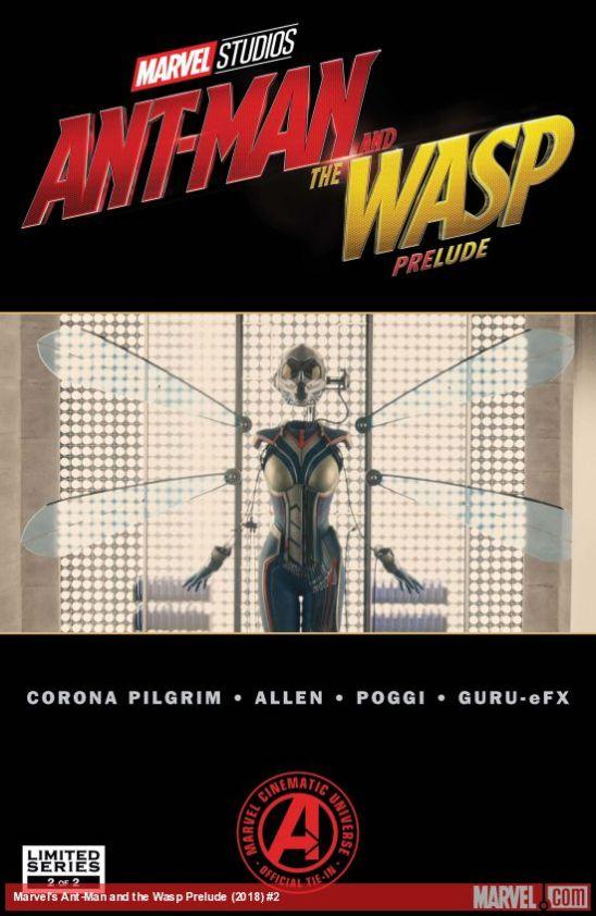Homem-Formiga e Vespa - Prelúdio #2 (2018)