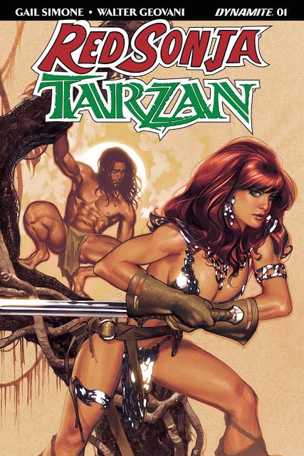 Red Sonja e Tarzan #1 (2018)