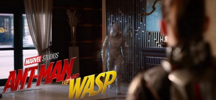 Ant-Man and Wasp - Ghost Vs. Wasp Fight Scene Clip