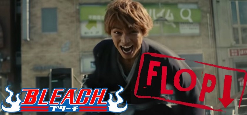 Bleach Live Action - Filme flopa no Japão