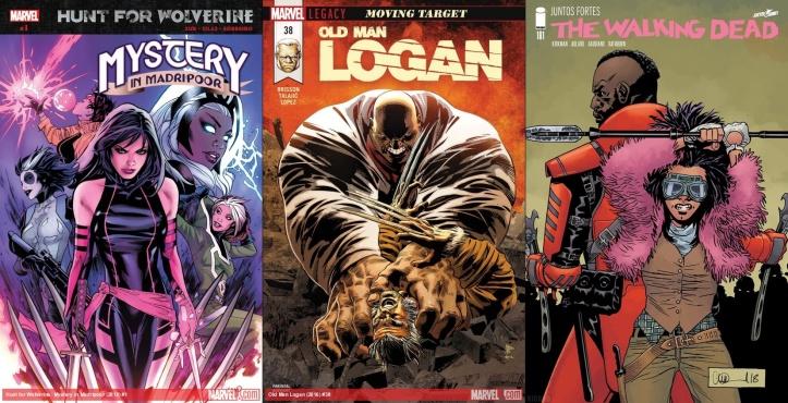 Destaques do Porco-Aranha #7 - Caçada ao Wolverine, Velho Logan e The Walking Dead