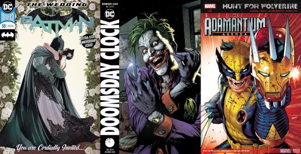 Destaques do Porco-Aranha #8 - Batman, Relógio do Juízo Final e Caçada ao Wolverine