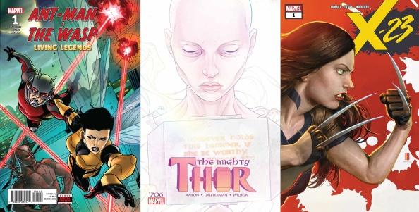 Destaques do Porco-Aranha #9 - Homem-Formiga e Vespa, Thor e X-23