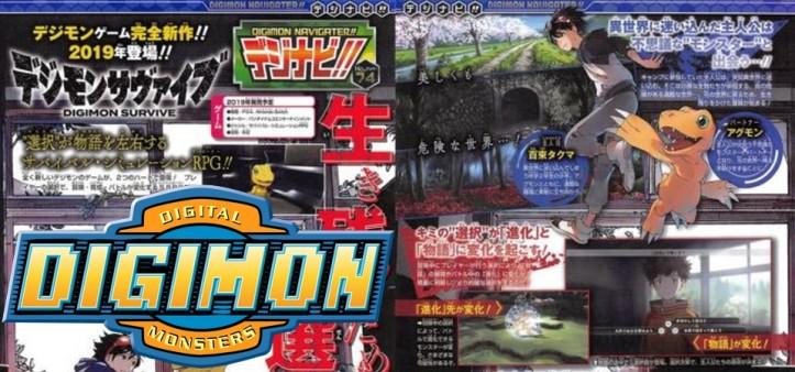 Digimon Survive é anunciado para Switch e PS4