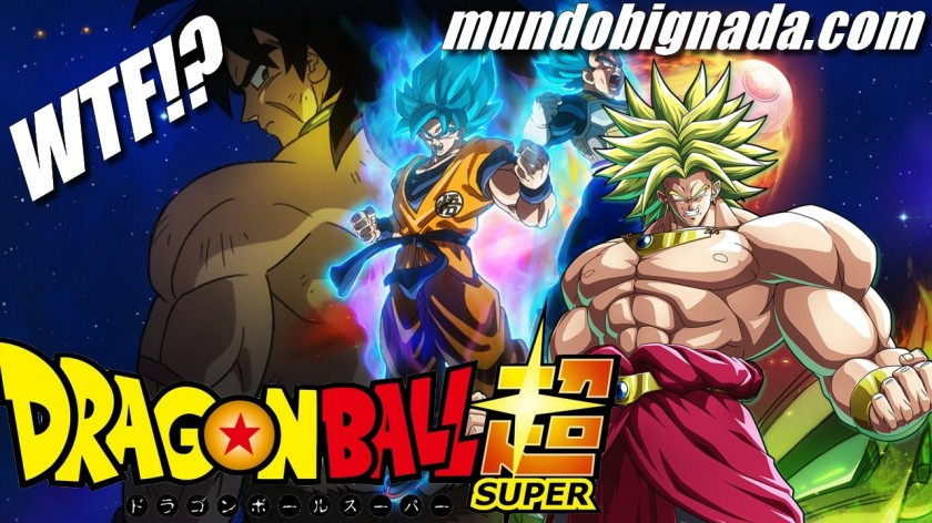 Dragon Ball Super - Broly é o nome do filme! BIGNADA NEWS
