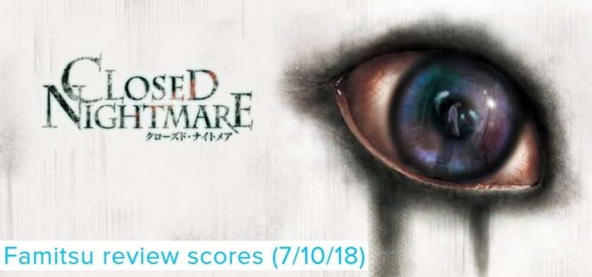 Famitsu - Review Scores (7 10 18) - Close Nightmare
