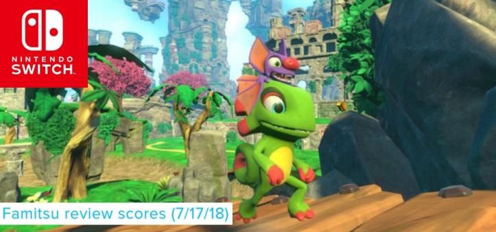 Famitsu - Review Scores 7 17 18 - Yooka-Laylee, The Crew 2 e outros games