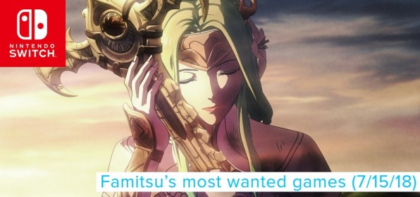 Famitsu´s Most Want Games (7 15 18) - Fire Emblem Three Houses subindo no ranking