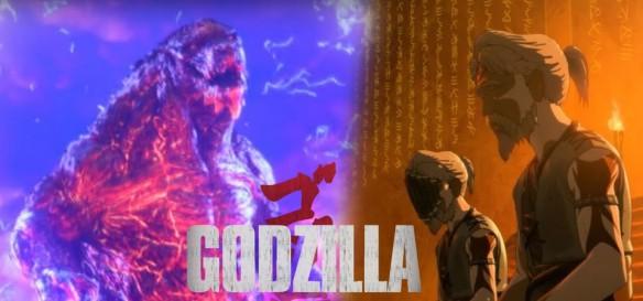 King Ghidorah e a Cena Pós-Créditos de Godzilla - City on the Edge of Battle