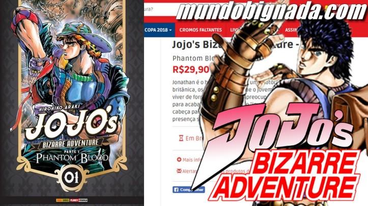 Mangá de Jojo´s Bizarre Adventure é anunciado pela Panini - BIGNADA NEWS