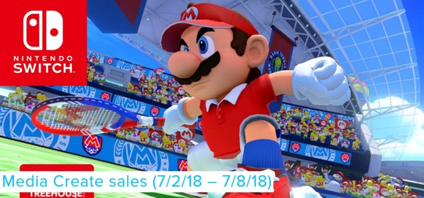 Mario Tennis Aces domina as vendas do Japão pela terceira semana seguida - Media Create Sales