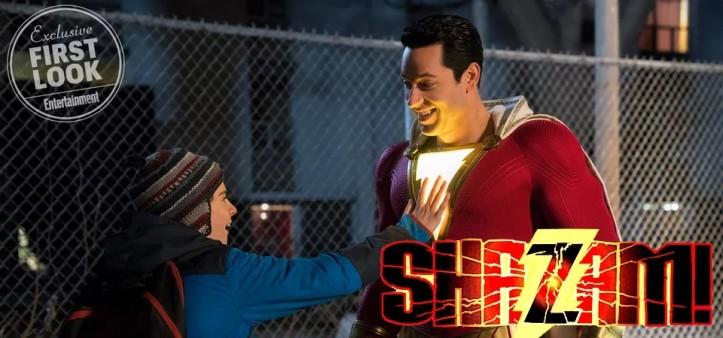 Shazam - Novo First Look do Herói é Liberado