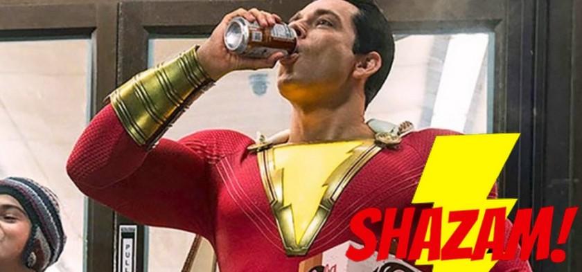 Shazam - Primeira Imagem Oficial do Filme