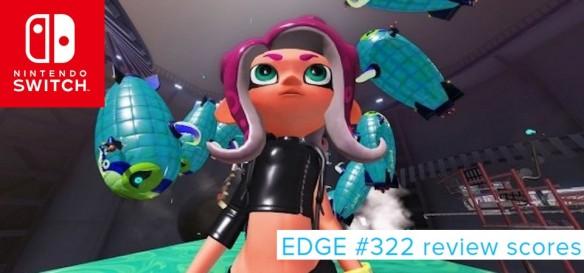 Splatoon 2 - Octo Expansion é o destaque da Edge #322 - Review Scores